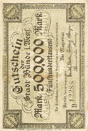 Notgeld um 1923