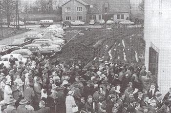 Einweihung 1964